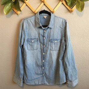 J.Crew Chambray Button Down